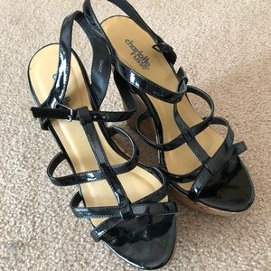 Charlotte Russe Strappy Wedges